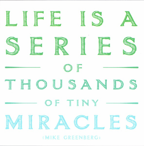 Greenberg - Life Is A Series