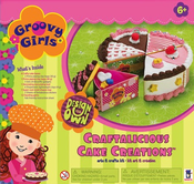 Groovy Girls Design Your Own Craftalicious Cake Creations