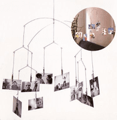 Hanging Photoclip Mobile