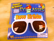 Happy Birthday Eye Glasses