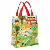 Happy Food Town Handy Tote