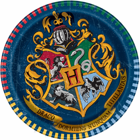"Harry Potter 7"" Plate"