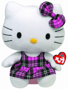 Hello Kitty Pink Tartan 13""
