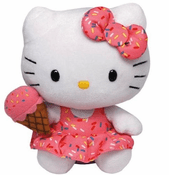 Hello Kitty with Ice Cream Cone