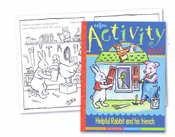 Helpful Rabbit and Friends Activity Book