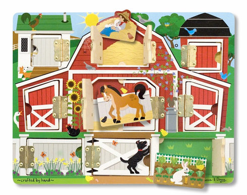 Hide and Seek Farm Puzzle