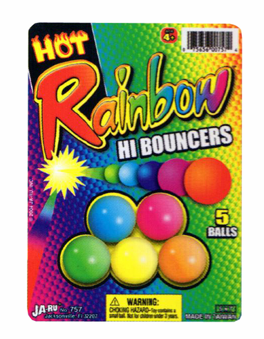 Hot Rainbow High Bouncers