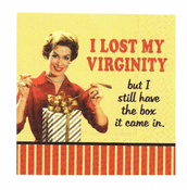 I Lost My Virginity Beverage Napkins
