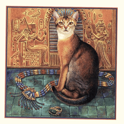 Icon Egyptian Cat