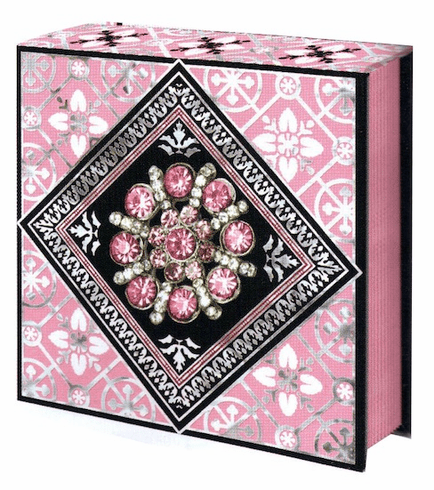 JEWEL NOTEPAD: LT Pink FLOWER