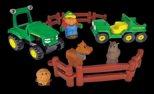 John Deere Farming Fun Playset