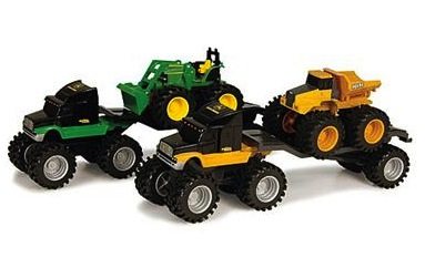 John Deere Monster Semi Hauler Set