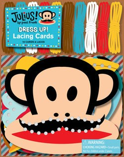 Julius! Dress Up! Lacing Cards