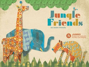Jungle Friends: 5 Jumbo Punch-Out Animals