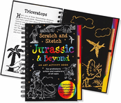 Jurassic & Beyond Scratch and Sketch