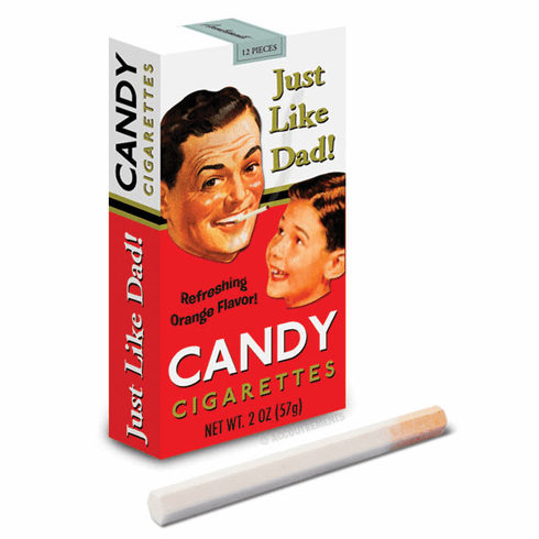 Just Like Dad Candy Cigarettes