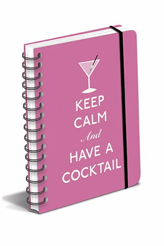 Keep Calm and Have a Cocktail Journal