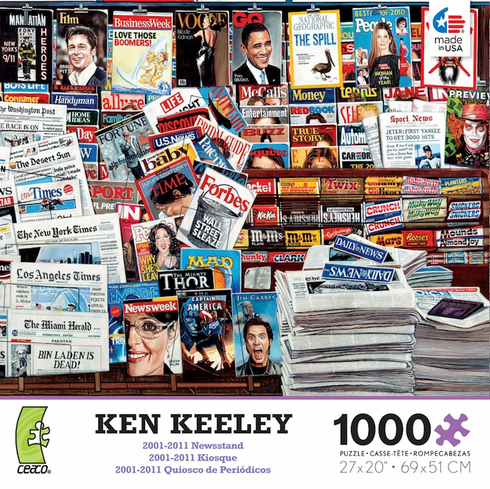 Ken Keeley - 2001-2011 Newsstand