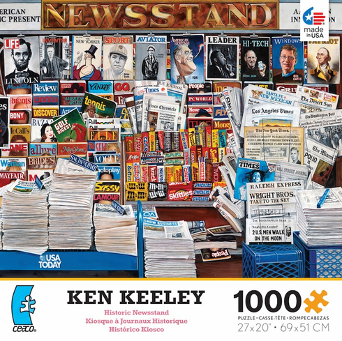 Ken Keeley - Historic Newsstand