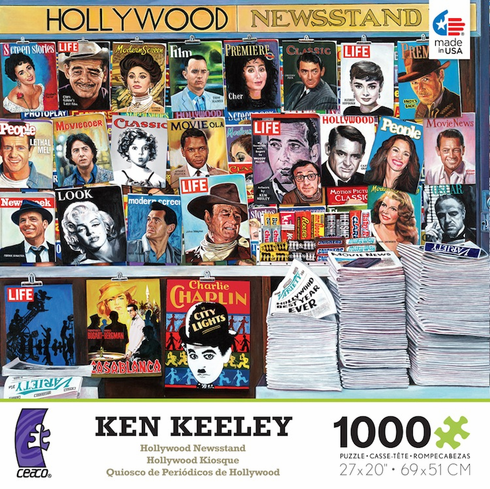 Ken Keeley - Hollywood Newsstand
