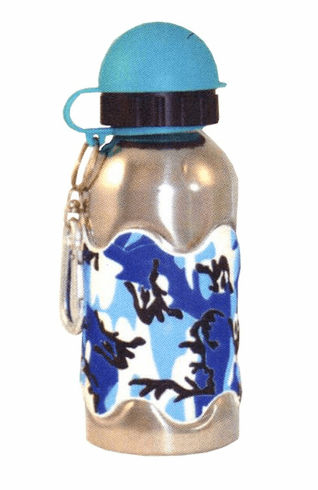 Kids Blue Cameo Bottle