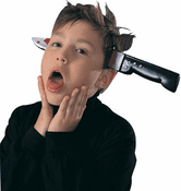Knife Through Head Gag Gift
