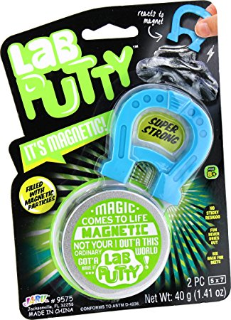 Lab Putty It's Magnetic!