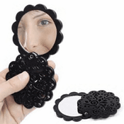 Lace Compact Mirror