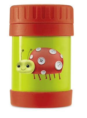 Ladybug Insulated Food Jar