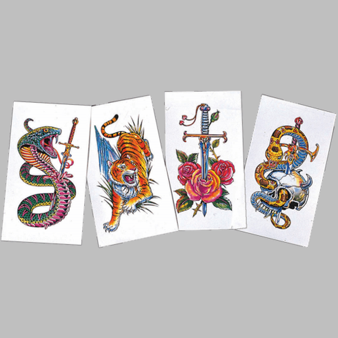 Large Temporary Tattoos
