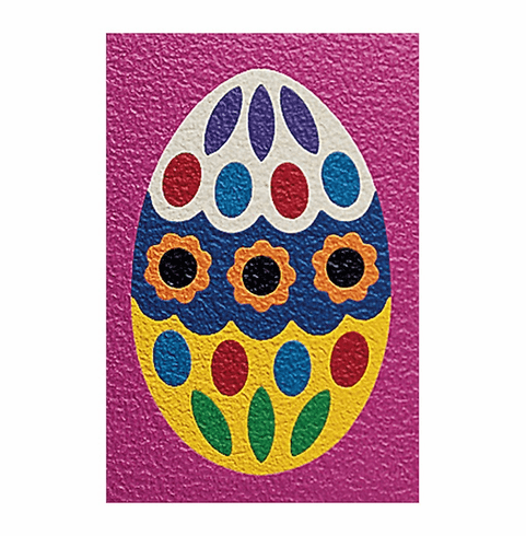 Lauri Crepe Rubber Puzzle Easter Egg