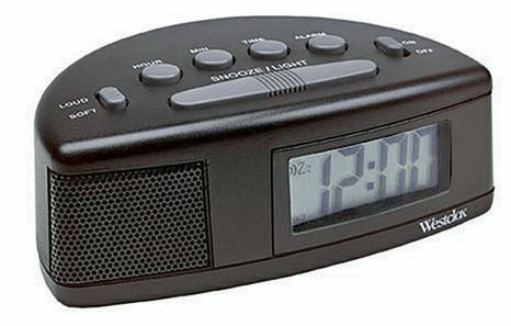LCD Display Alarm Clock
