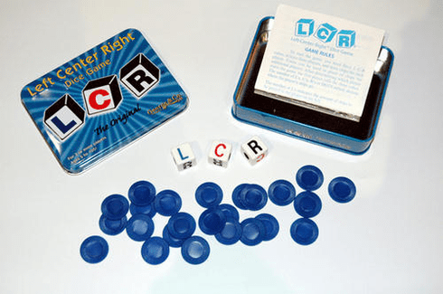Left Right Center Dice Game - The Original LCR