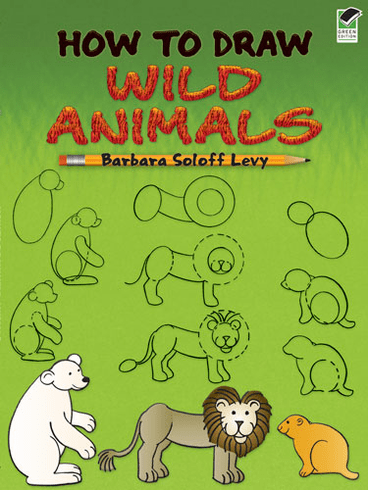 LG Activity Book: How to Draw Wild Animals