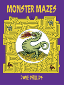 LG Activity Book: Monster Mazes