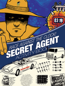 LG Activity Book: Secret Agent Race Against the Clock!