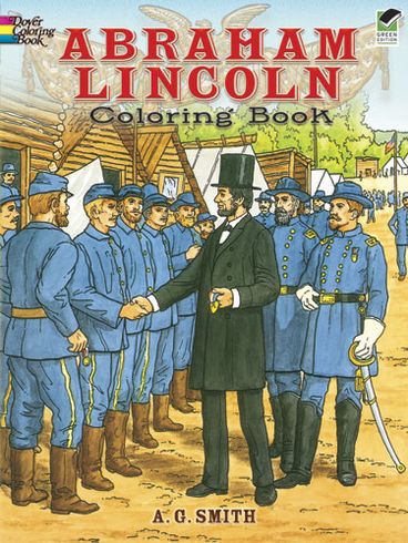 LG Coloring Book: Abraham Lincoln