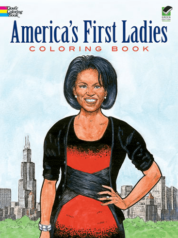 LG Coloring Book: America's First Ladies