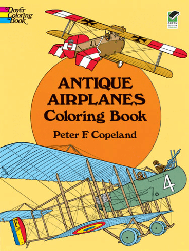 LG Coloring Book: Antique Airplanes