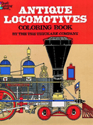 LG Coloring Book: Antique Locomotives