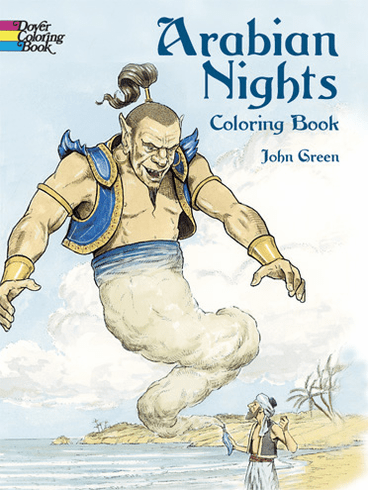 LG Coloring Book: Arabian Nights