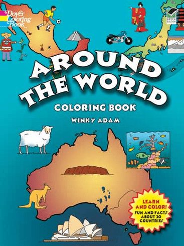 LG Coloring Book: Around the World
