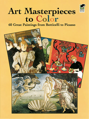 LG Coloring Book: Art Masterpieces