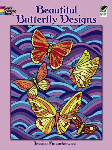 LG Coloring Book: Beautiful Butterfly Designs