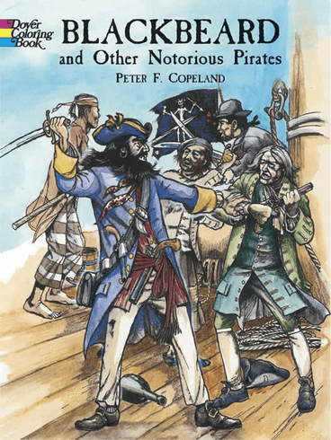 LG Coloring Book: Blackbeard & Others