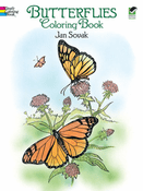 LG Coloring Book: Butterflies