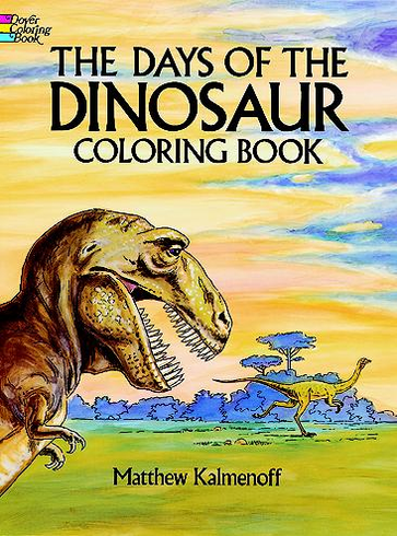 LG Coloring Book: Days of the Dinosaur