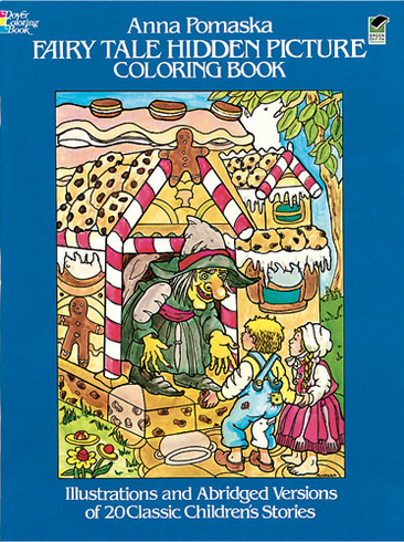 LG Coloring Book: Fairy Tale Hidden Pictures