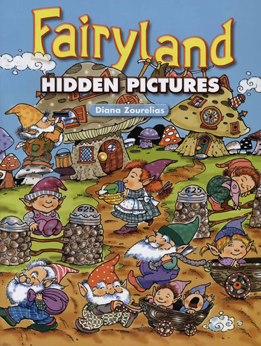 LG Coloring Book: Fairyland Hidden Pictures