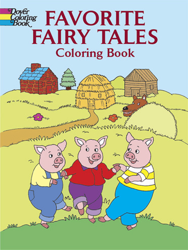 LG Coloring Book: Favorite Fairy Tales